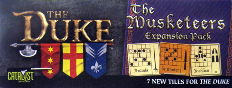 Duke, The: Musketeers Expansion - obrázek