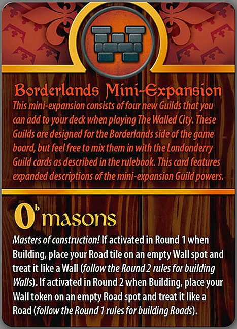 Walled City, The: Borderlands Mini-Expansion - obrázek