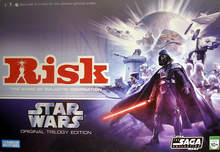 Risk: Star Wars Original Trilogy Edition - obrázek