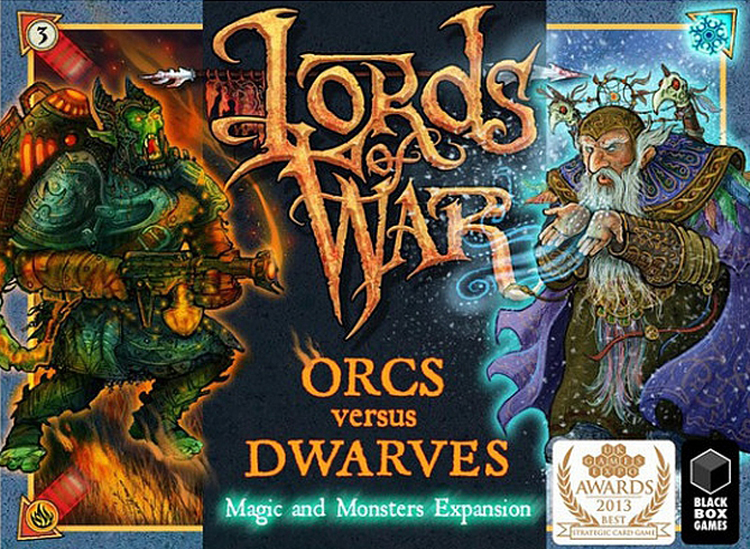 Lords of War: Orcs versus Dwarves 2 - The Magic and Monsters Expansion - obrázek