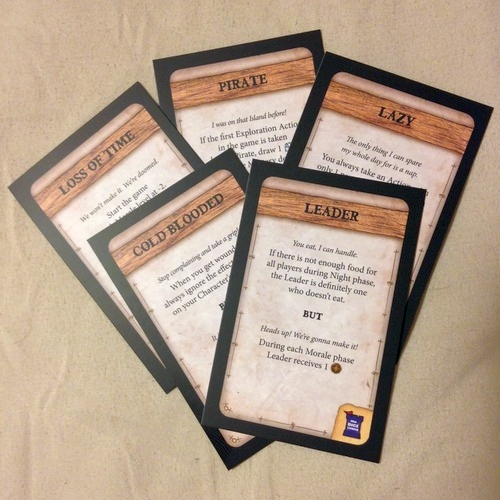 Robinson Crusoe: Adventure on the Cursed Island – Trait Cards II - obrázek