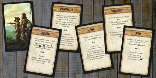 Robinson Crusoe: Adventure on the Cursed Island – Trait Cards I - obrázek