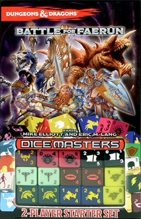 Dungeons & Dragons Dice Masters: Battle for Faerûn - obrázek