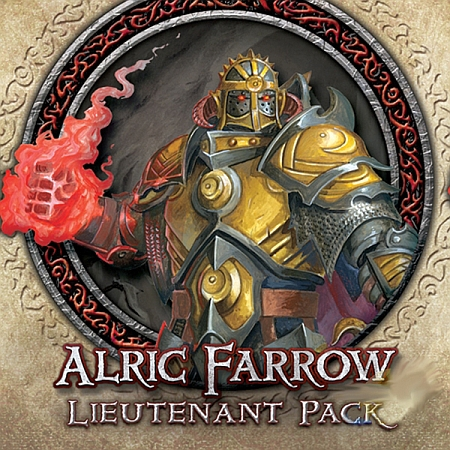 Descent: Journeys in the Dark (Second Edition) – Alric Farrow Lieutenant Pack - obrázek