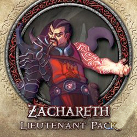 Descent: Journeys in the Dark (Second Edition) – Zachareth Lieutenant Pack - obrázek