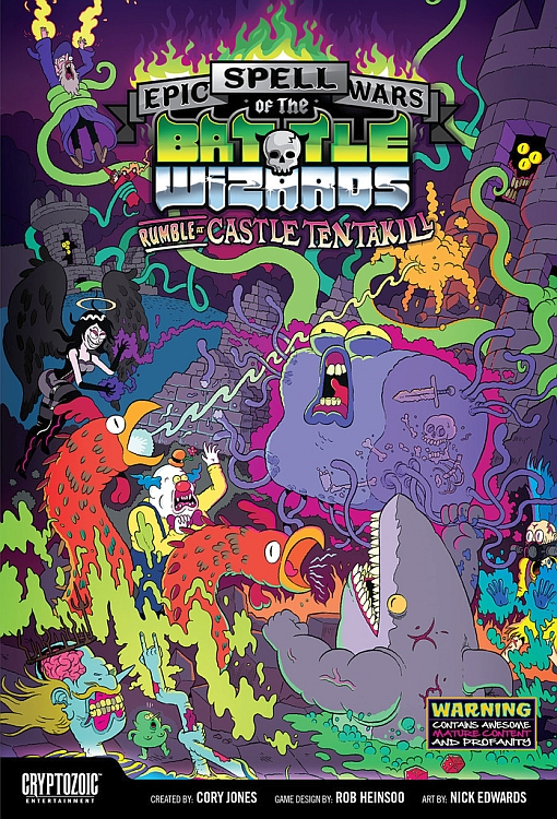 Epic Spell Wars of the Battle Wizards: Rumble at Castle Tentakill - obrázek