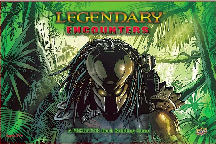 Legendary Encounters: A Predator Deck Building Game - obrázek