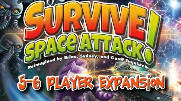 Survive: Space Attack! - 5-6 player - obrázek