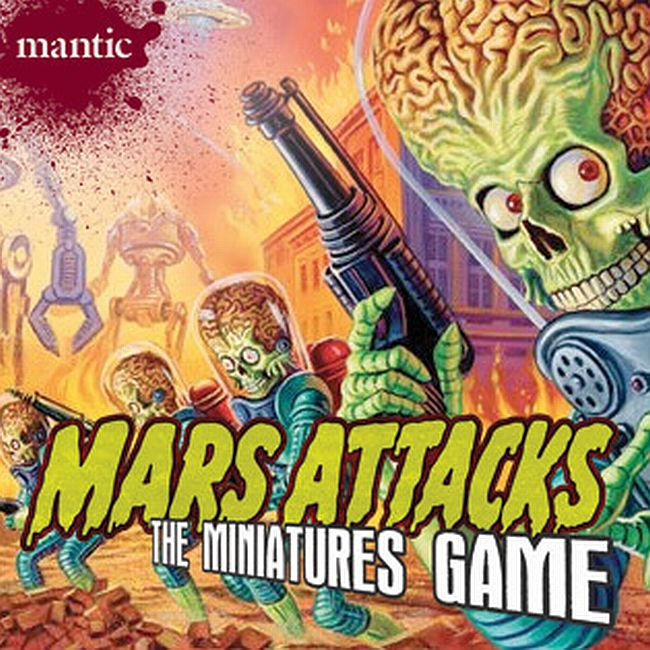 Mars Attacks: The Miniatures Game - obrázek