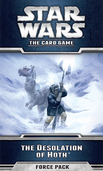 Star Wars: The Card Game - The Desolation Of Hoth - obrázek
