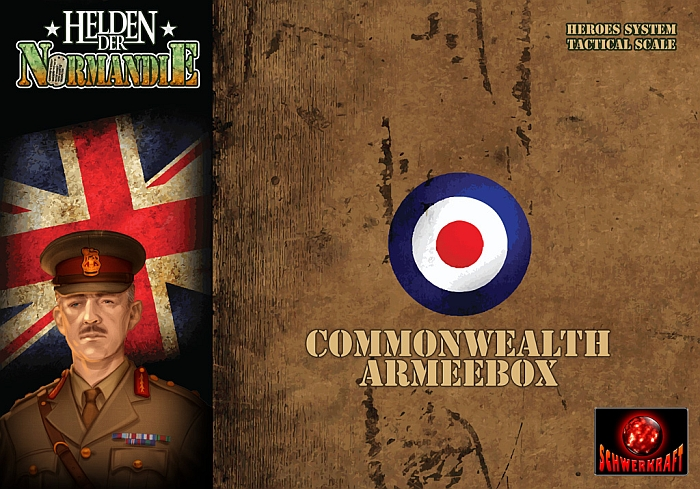 Heroes of Normandie: Commonwealth Army Box - obrázek