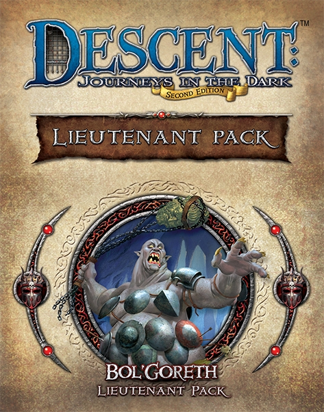 Descent: Journeys in the Dark (Second Edition) – Bol'Goreth Lieutenant Pack - obrázek