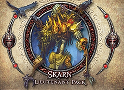 Descent: Journeys in the Dark (Second Edition) – Skarn Lieutenant Pack - obrázek