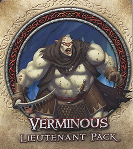 Descent: Journeys in the Dark (Second Edition) – Verminous Lieutenant Pack - obrázek