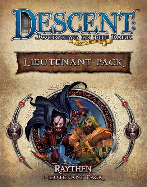 Descent: Journeys in the Dark (Second Edition) – Raythen Lieutenant Pack - obrázek