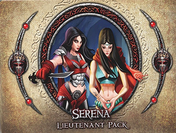 Descent: Journeys in the Dark (Second Edition) – Serena Lieutenant Pack - obrázek