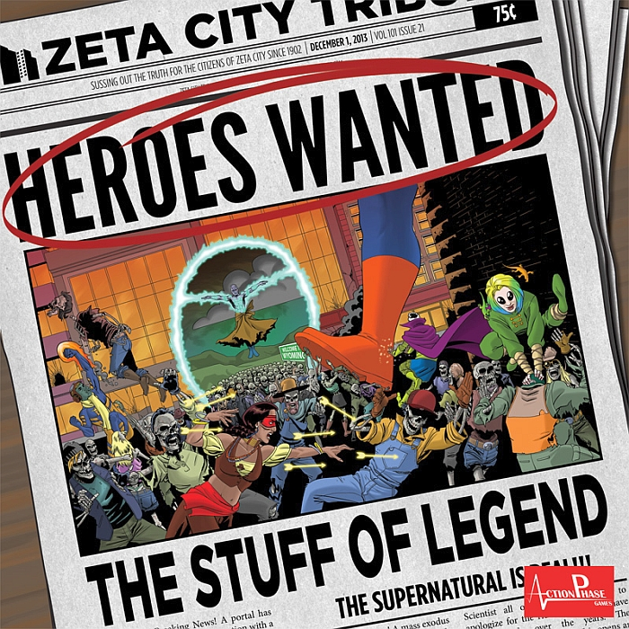 Heroes Wanted: The Stuff of Legend - obrázek
