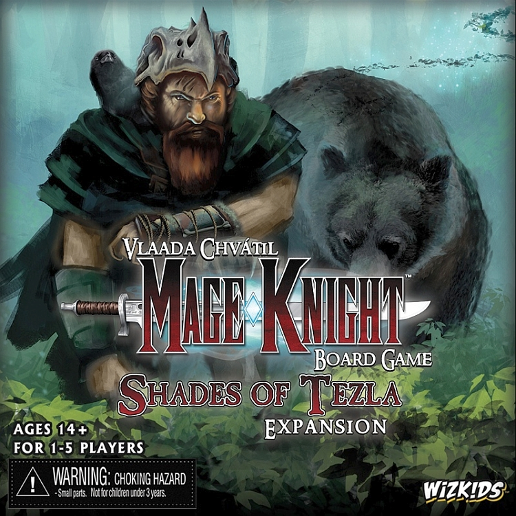 Mage Knight Board Game: Shades of Tezla Expansion - obrázek
