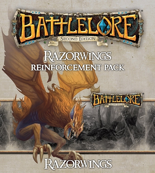 BattleLore Second Edition: Razorwings Reinforcement Pack - obrázek
