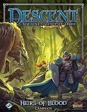 Descent - kniha Heirs of Blood