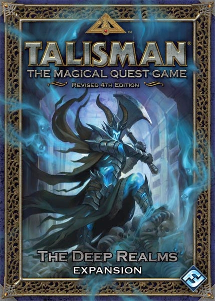 Talisman (fourth edition): The Deep Realm Expansion - obrázek