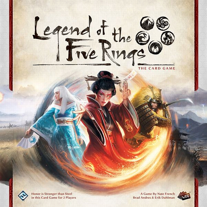 Legend of the Five Rings: The Card Game - obrázek