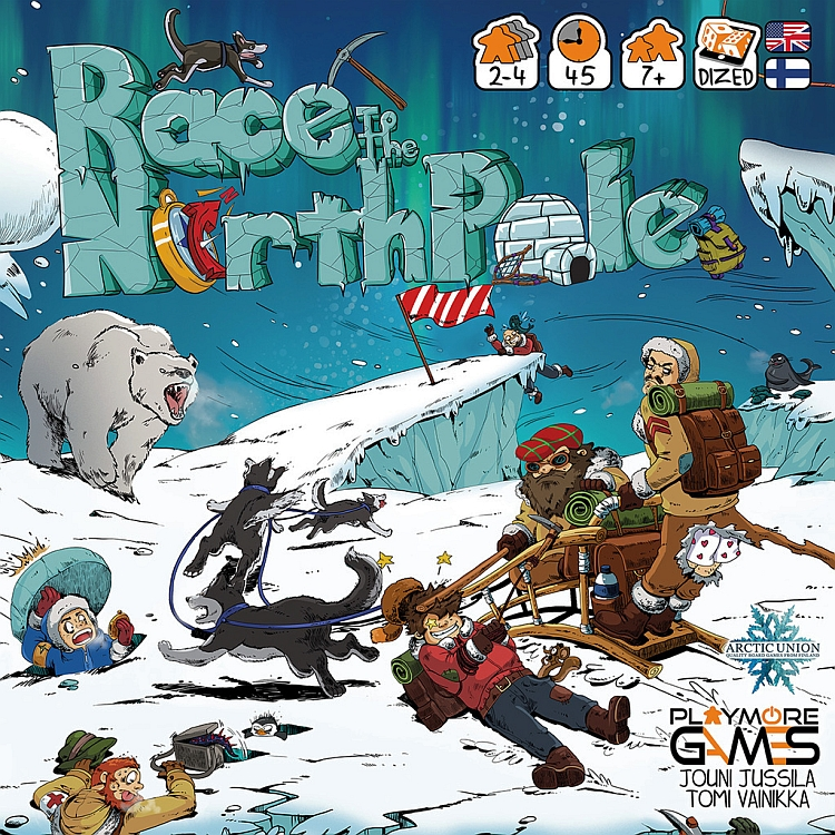 Race to the North Pole  - obrázek