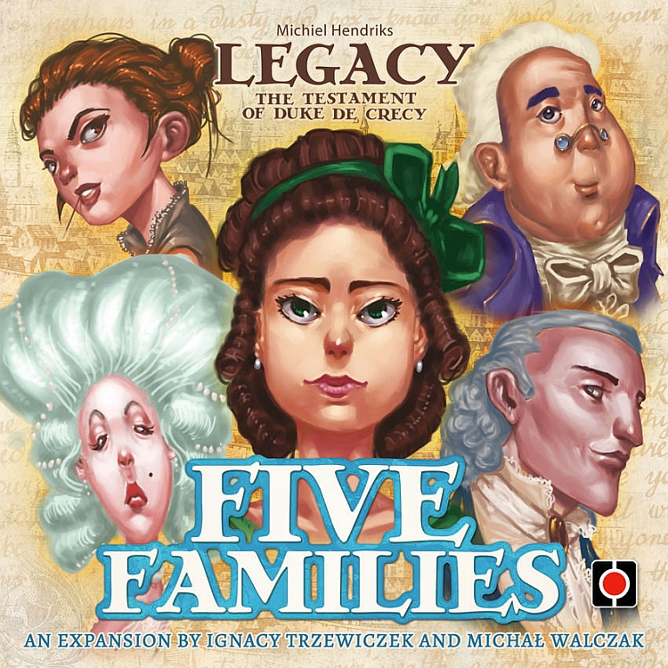 Legacy: The Testament of Duke de Crecy – Five Families - obrázek