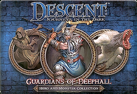 Descent: Journeys in the Dark (Second Edition) - Guardians of Deephall - obrázek