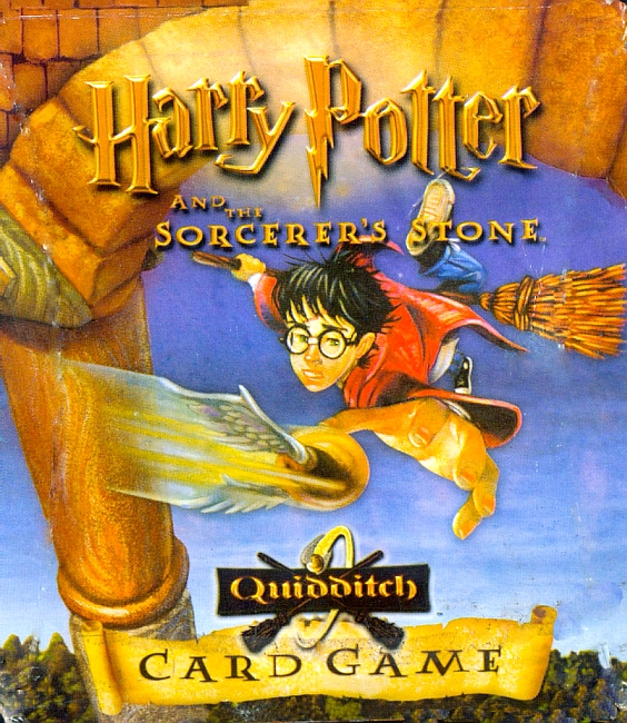 Harry Potter and the Sorcerer's Stone Quidditch Card Game - obrázek