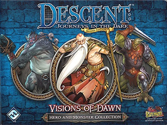 Descent: Journeys in the Dark (Second Edition) - Visions of Dawn (2015) - obrázek