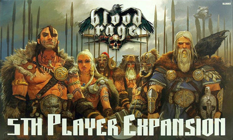 Blood Rage: 5th Player Expansion - obrázek