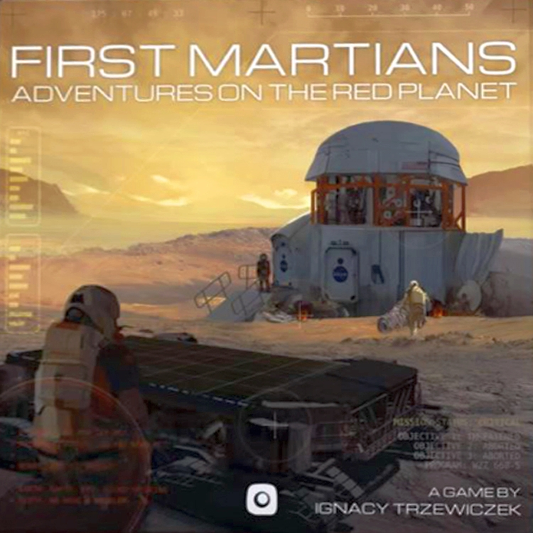 First Martians: Adventures on the Red Planet - obrázek