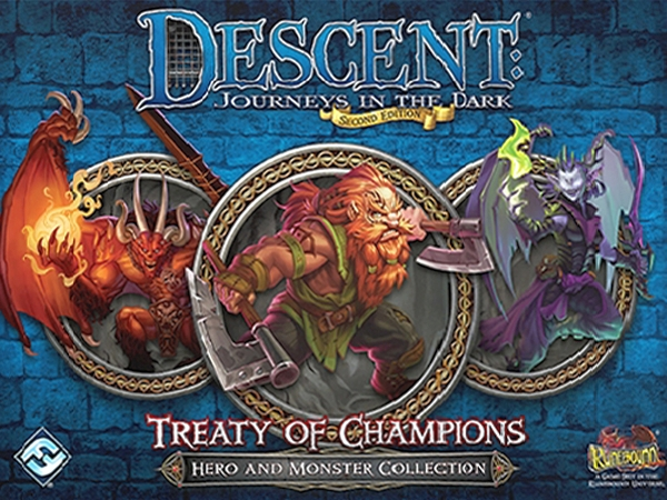 Descent: Journeys in the Dark (Second Edition) - Treaty of Champions - obrázek