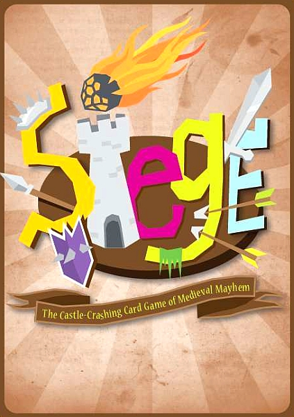 Siege: The Castle-Crashing Card Game of Medieval Mayhem - obrázek