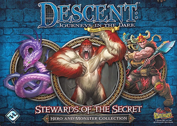 Descent: Journeys in the Dark (Second Edition) - Stewards of the Secret - obrázek