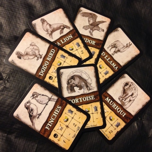 Robinson Crusoe: Adventure on the Cursed Island – Beast Cards - obrázek