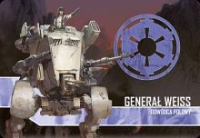 Star Wars: Imperial Assault – General Weiss Villain Pack - obrázek