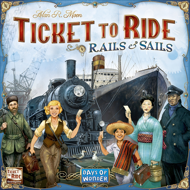 Ticket to Ride: Rails & Sails - obrázek