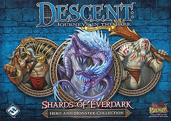 Descent: Journeys in the Dark (Second Edition) - Shards of Everdark - obrázek