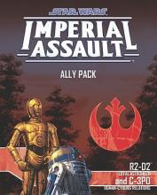 Star Wars: Imperial Assault – R2-D2 and C-3PO Ally Pack - obrázek