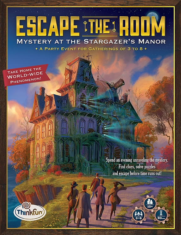 Escape The Room: Mystery at the Stargazer's Manor - obrázek