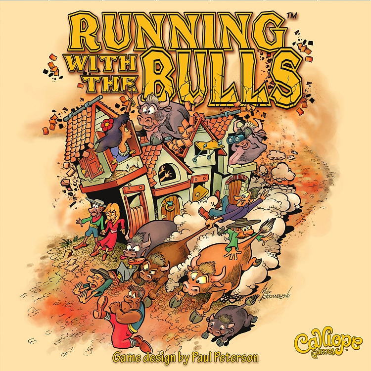 Running with the Bulls - obrázek