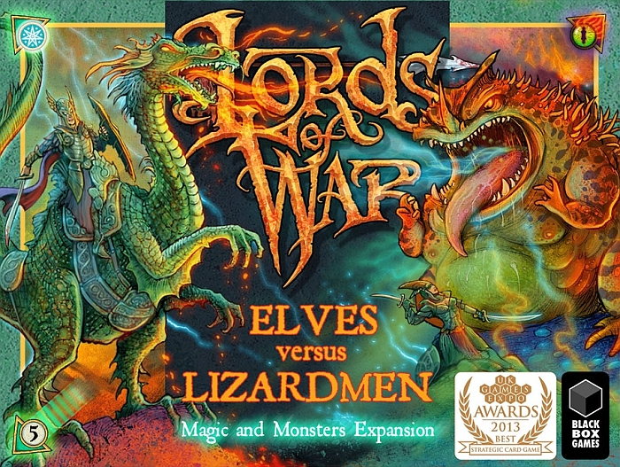 Lords of War: Elves versus Lizardmen 2 – The Magic and Monsters Expansion - obrázek