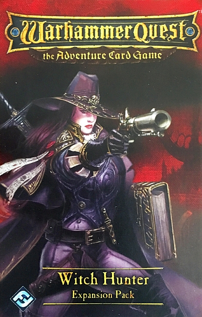 Warhammer Quest: The Adventure Card Game – Witch Hunter Expansion Pack - obrázek