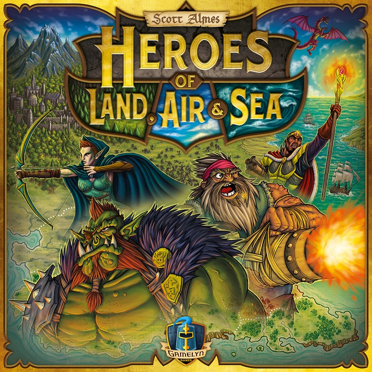 Heroes of Land, Air and Sea - obrázek