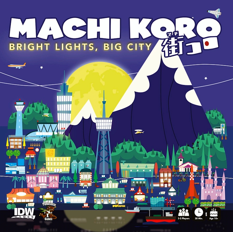 Machi Koro: Bright Lights, Big City - obrázek