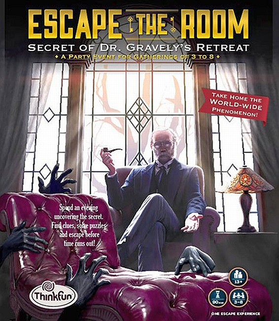Escape The Room: Secret of Dr. Gravely's Retreat - obrázek