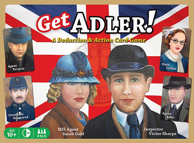 Get Adler! Deduction Card Game - obrázek