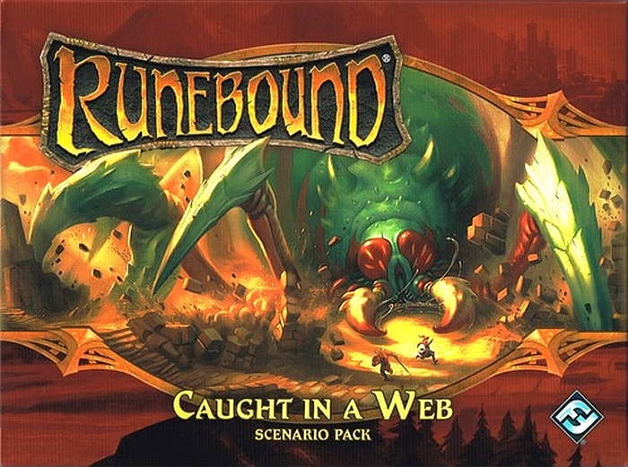 Runebound (Third Edition): Caught in a Web – Scenario Pack - obrázek
